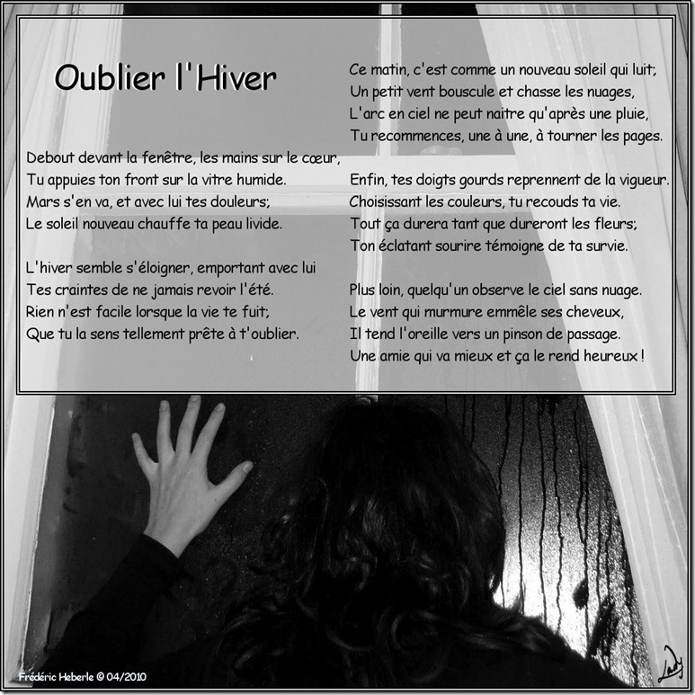 Oublier l'hiver